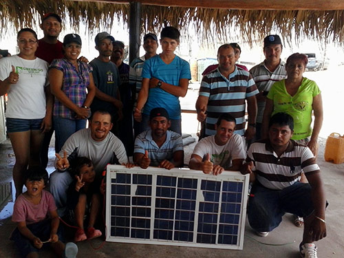 Mexican Solar Panel Workshop